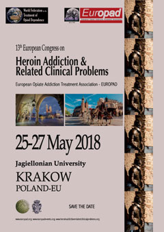 13th European Congress on Heroin Addiction & Related Clinical Problems